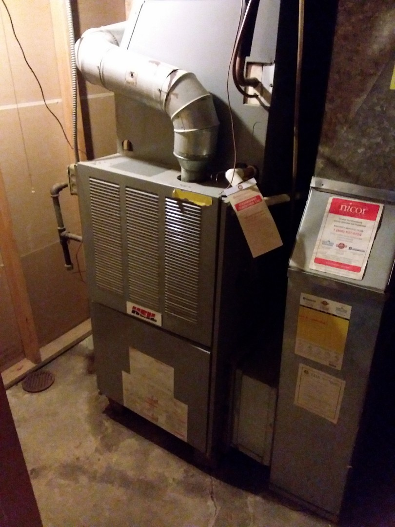 Maywood, IL - Install  new carrier furnace, replace old heil  furnace