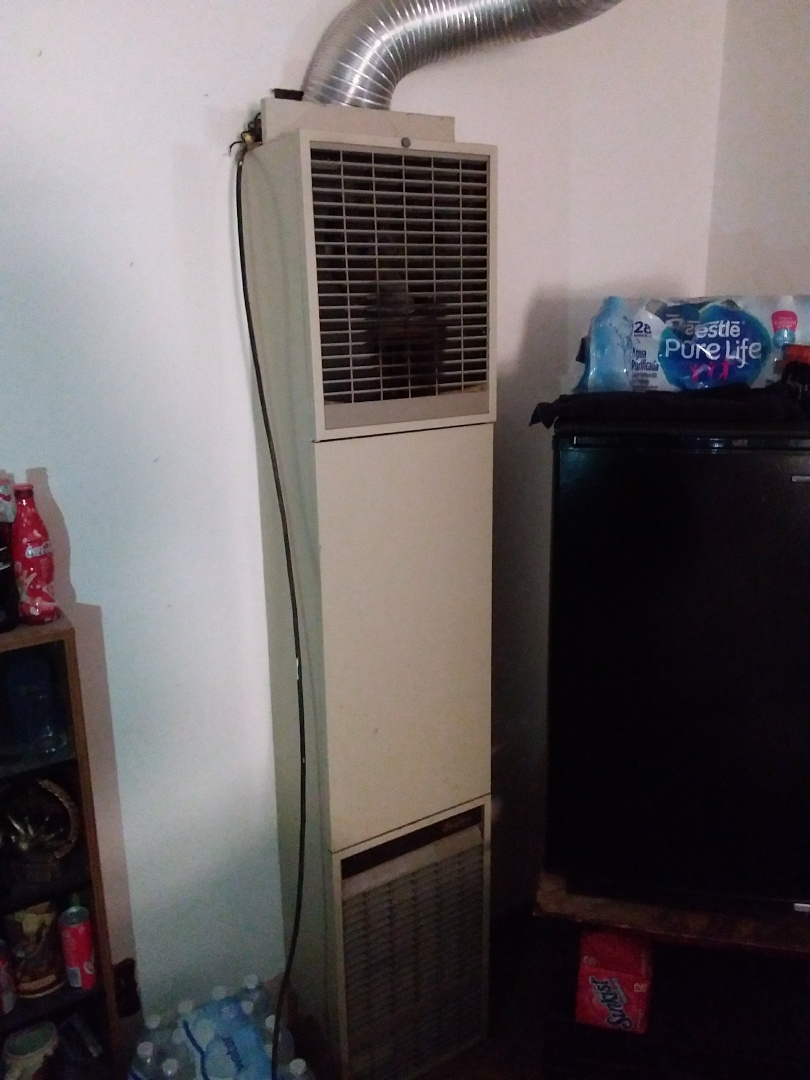Chicago, IL - Install new Williams wall heater , replace old Dayton wall unit