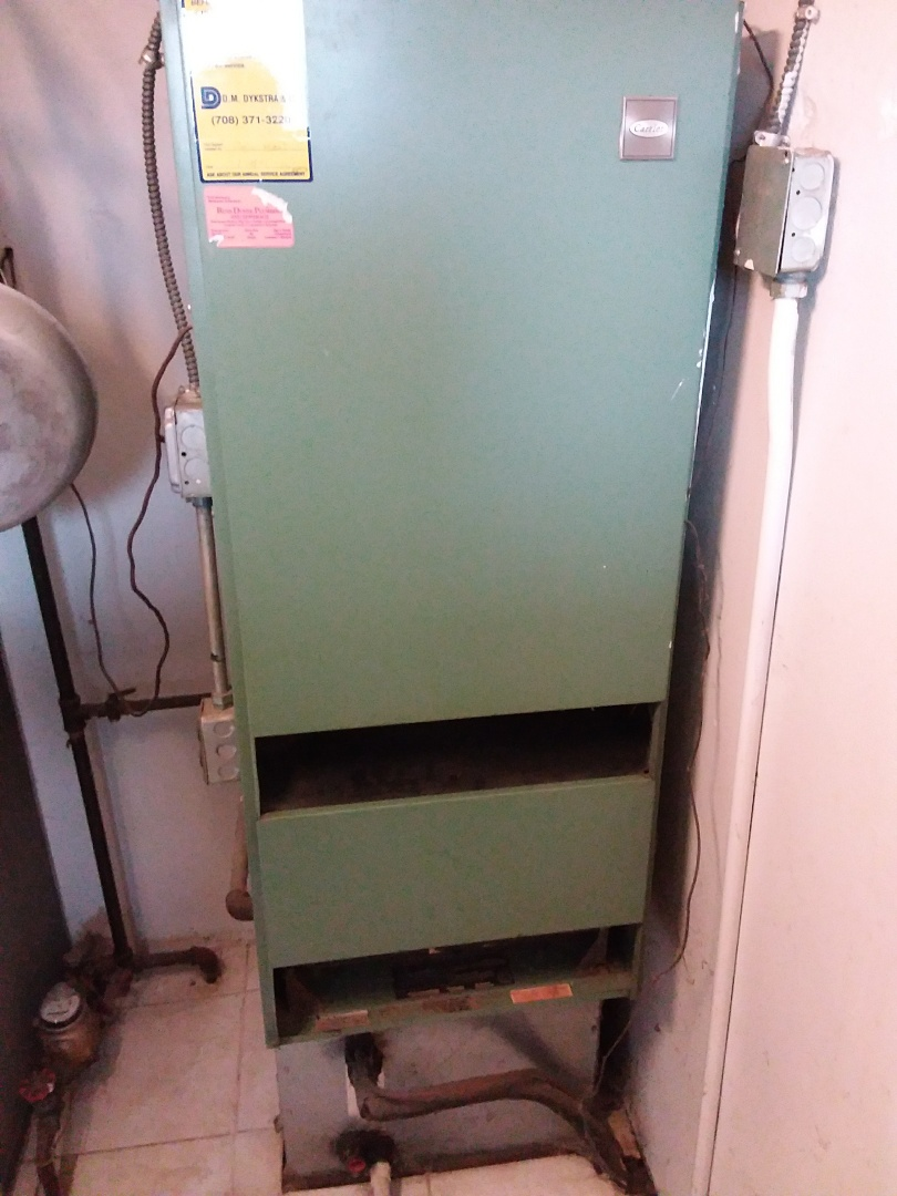 Chicago, IL - Installation of carrier furnace replace old carrier furnace
