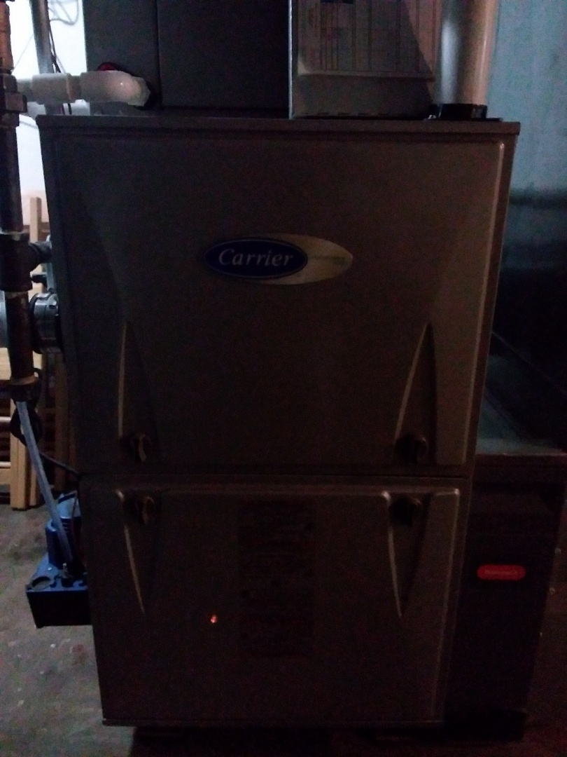 Palos Heights, IL - Carrier furnace maintenance