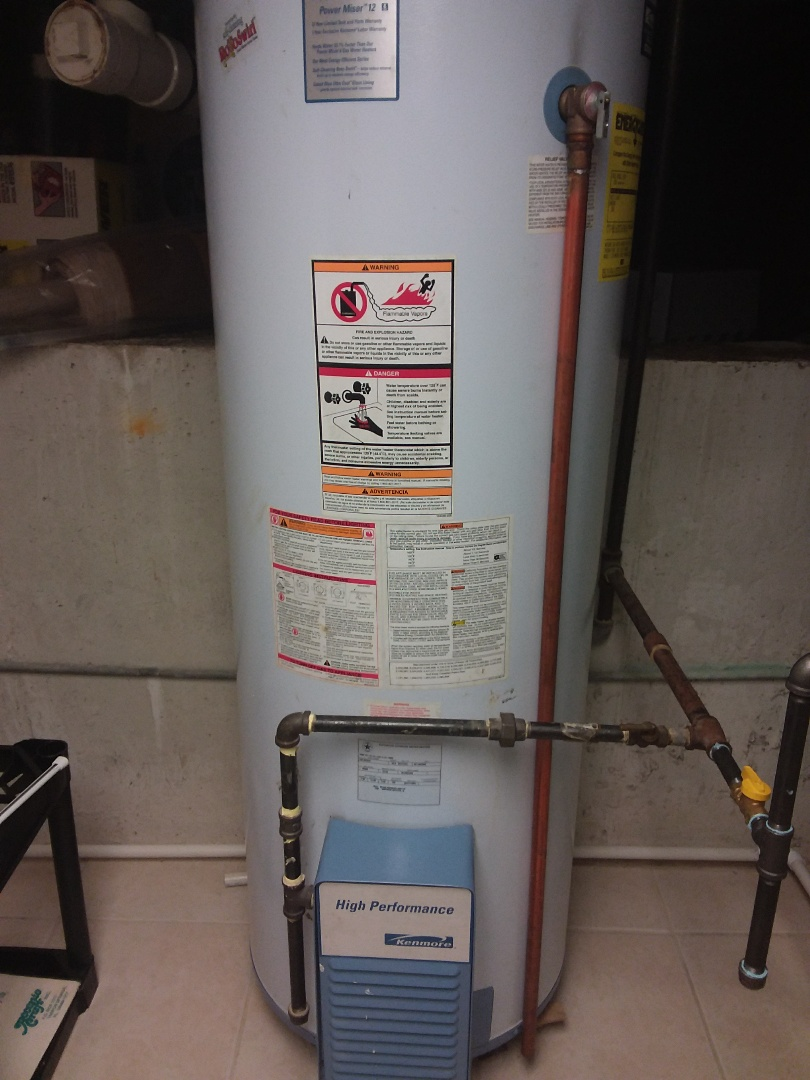 Darien, IL - Hot water heater maintenance and repair.