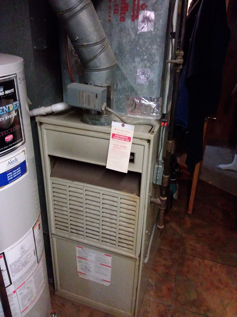 Chicago Heights, IL - Installation of carrier furnace replace old carrier furnace