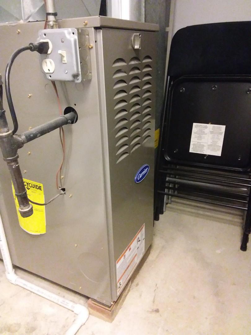 Darien, IL - Repairing a carrier furnace