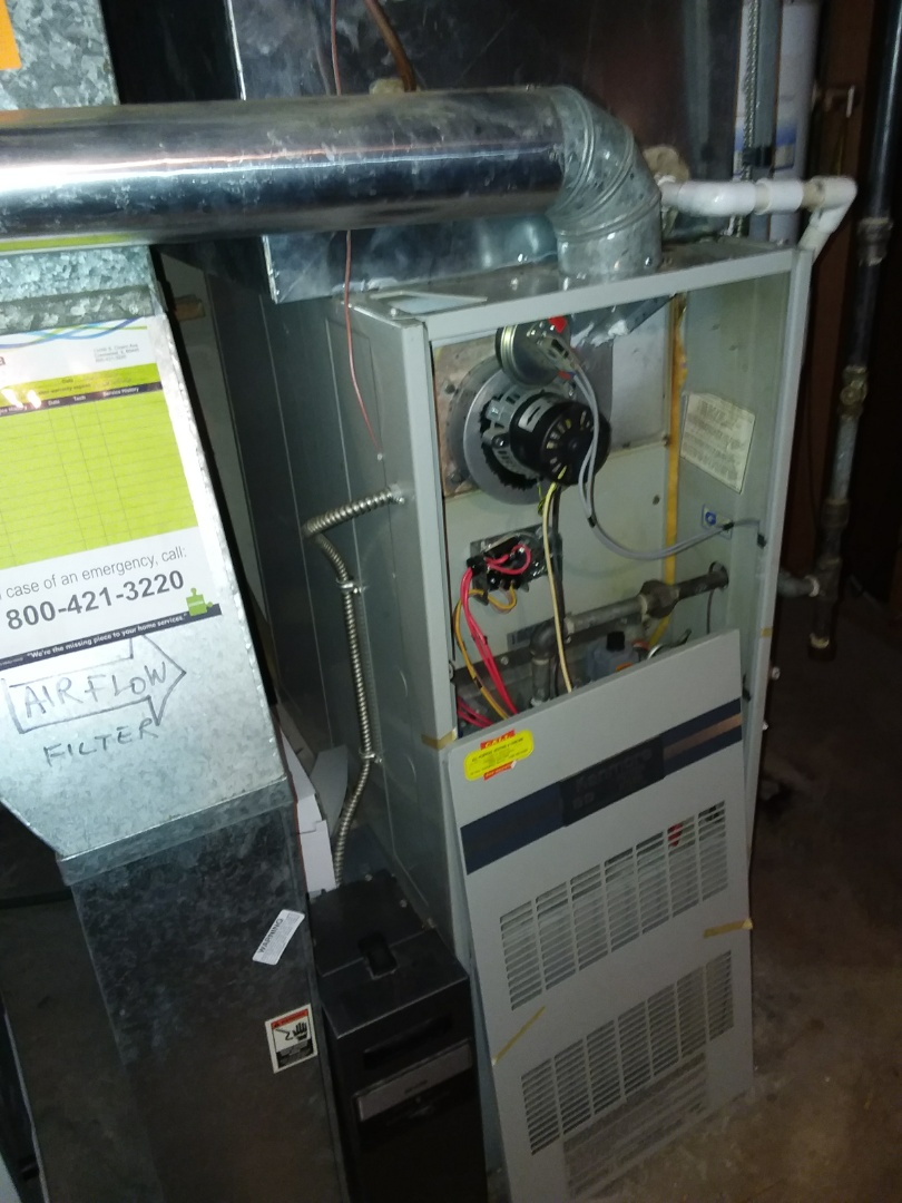 Oak Lawn, IL - Replacement of Kenmore,Installation of Carrier furnace and humidifier. Pop