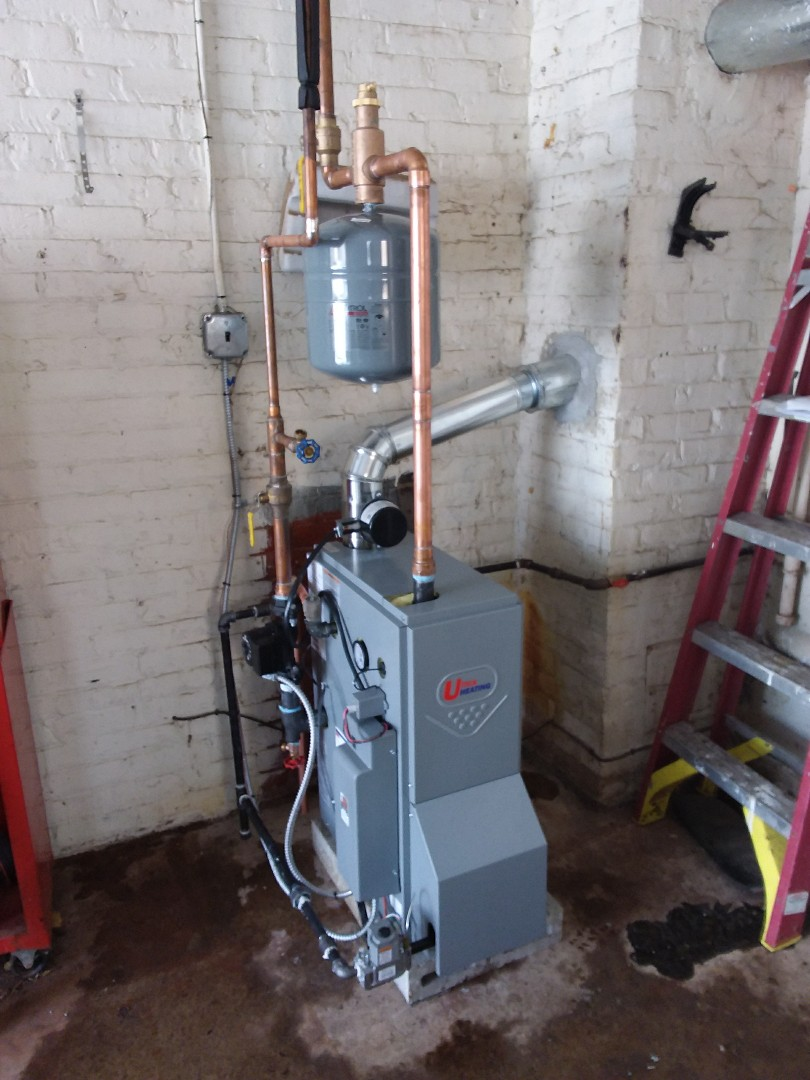 Evergreen Park, IL - Installation of a Utica boiler