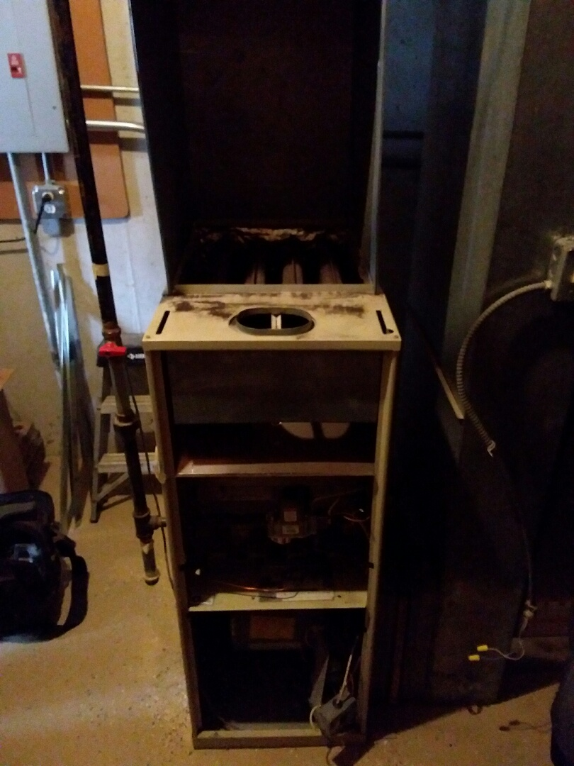 Homer Glen, IL - New carrier furnace installation