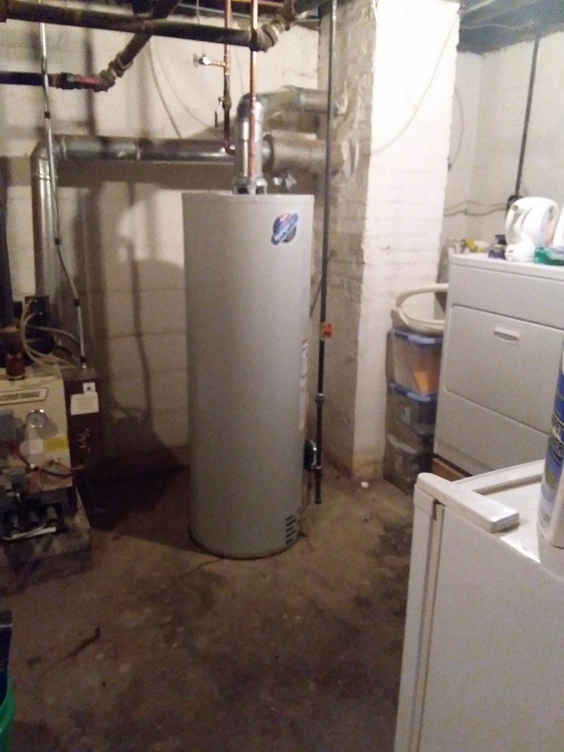 West Chicago, IL - Installation of new water heater