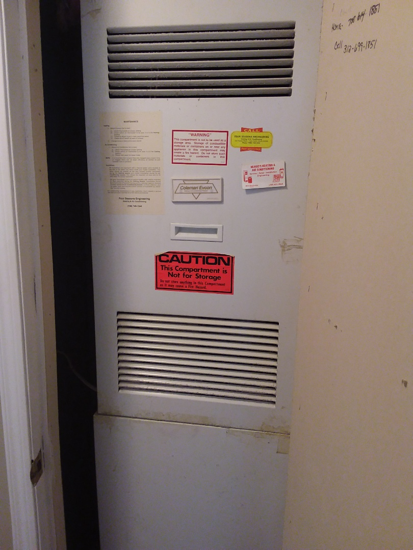 Frankfort, IL - Repairing a Coleman furnace