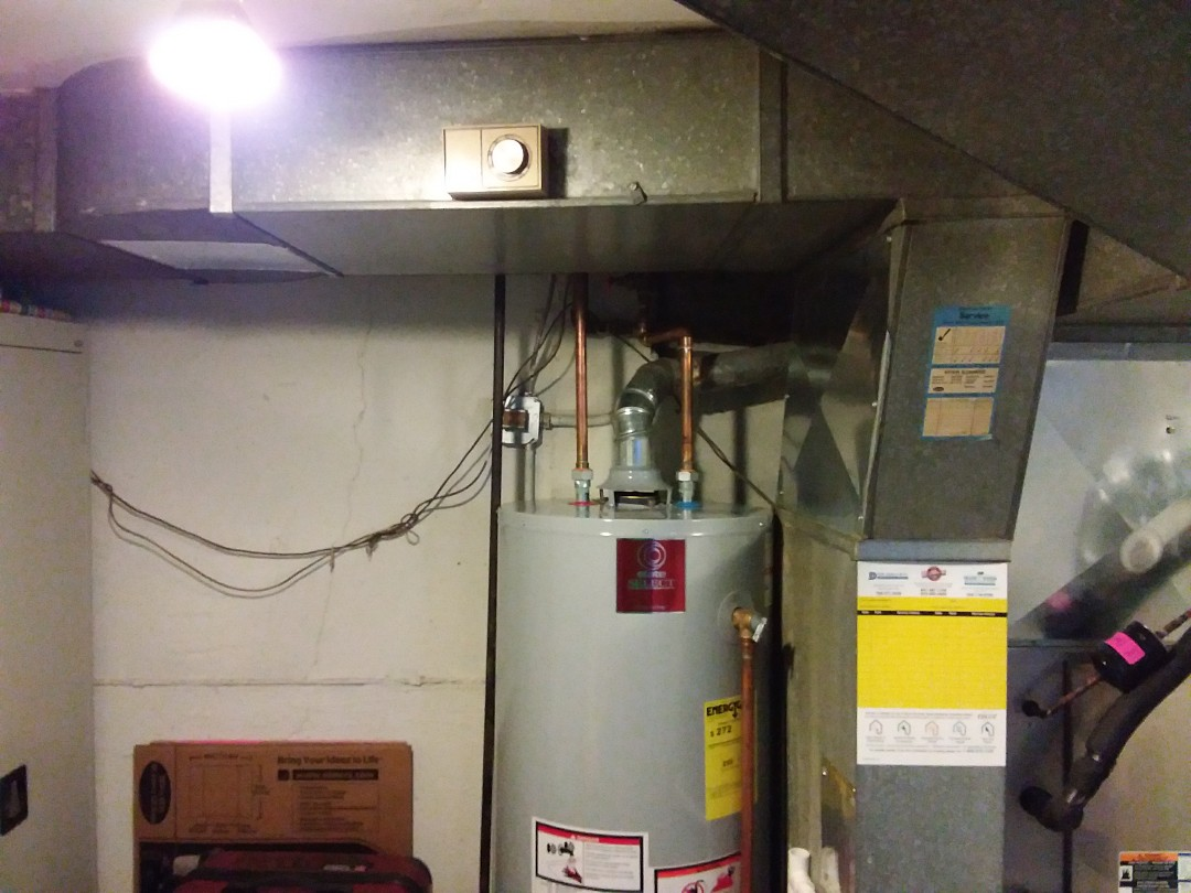 Lincolnwood, IL - Installation of new bypass humidifier