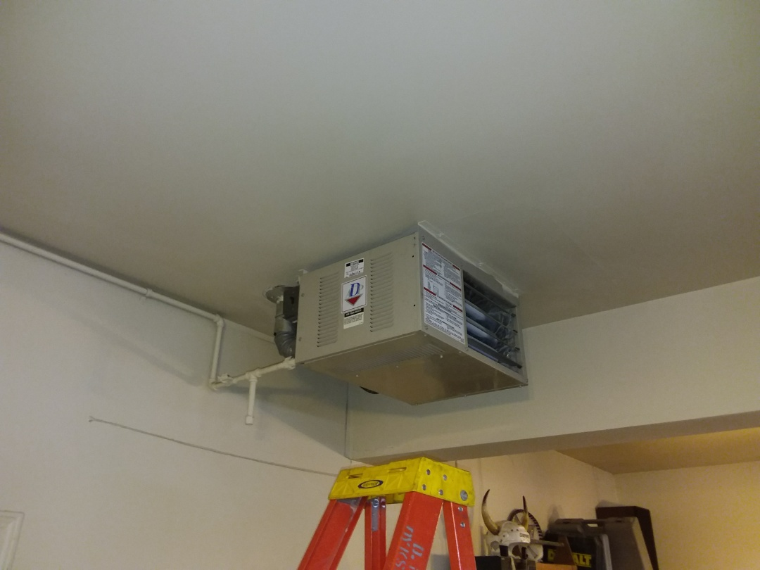 Orland Park, IL - Garage heater repair