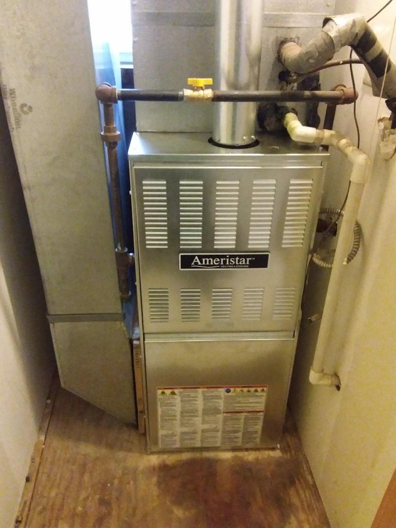 Chicago, IL - Ameristar furnace installation