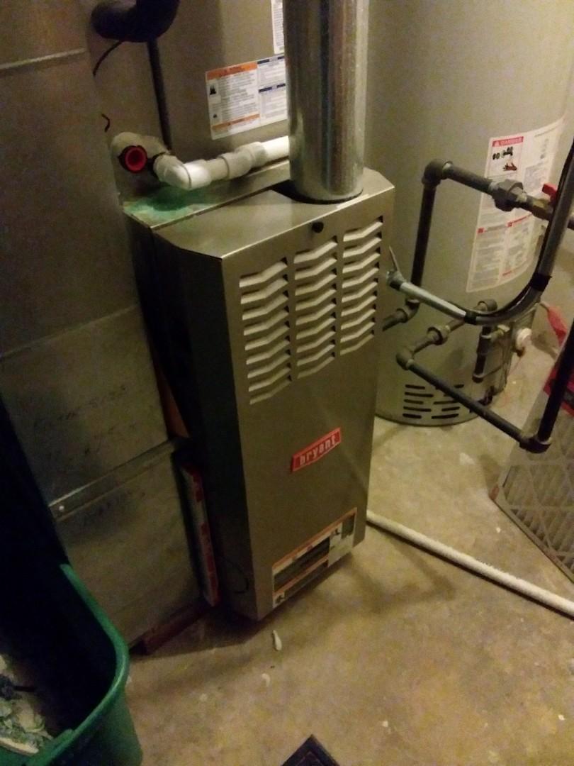 Aurora, IL - Repairing a Bryant furnace