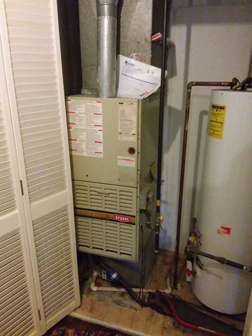 Markham, IL - Installation on a carrier furnace replacement of a Bryant