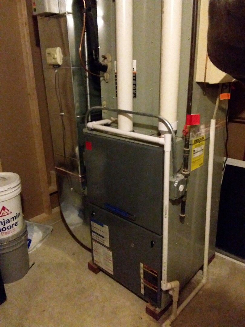 South Holland, IL - New carrier furnace install