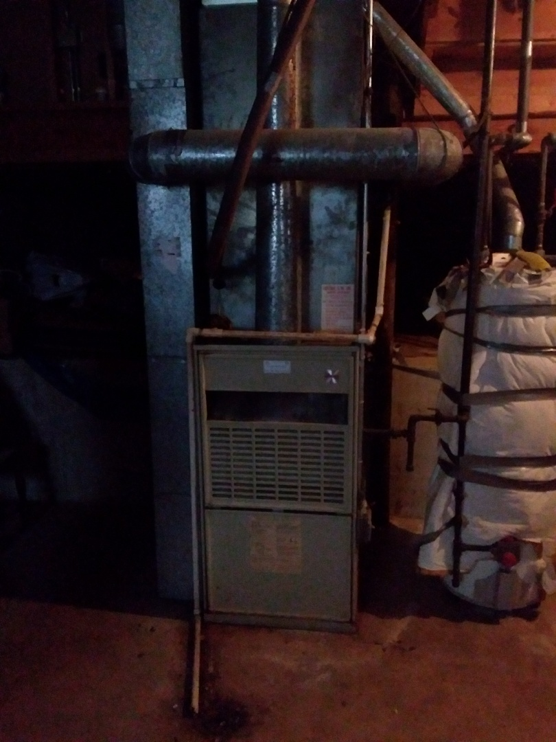 Lockport, IL - Installation of a carrier furnace replacement of a bryant