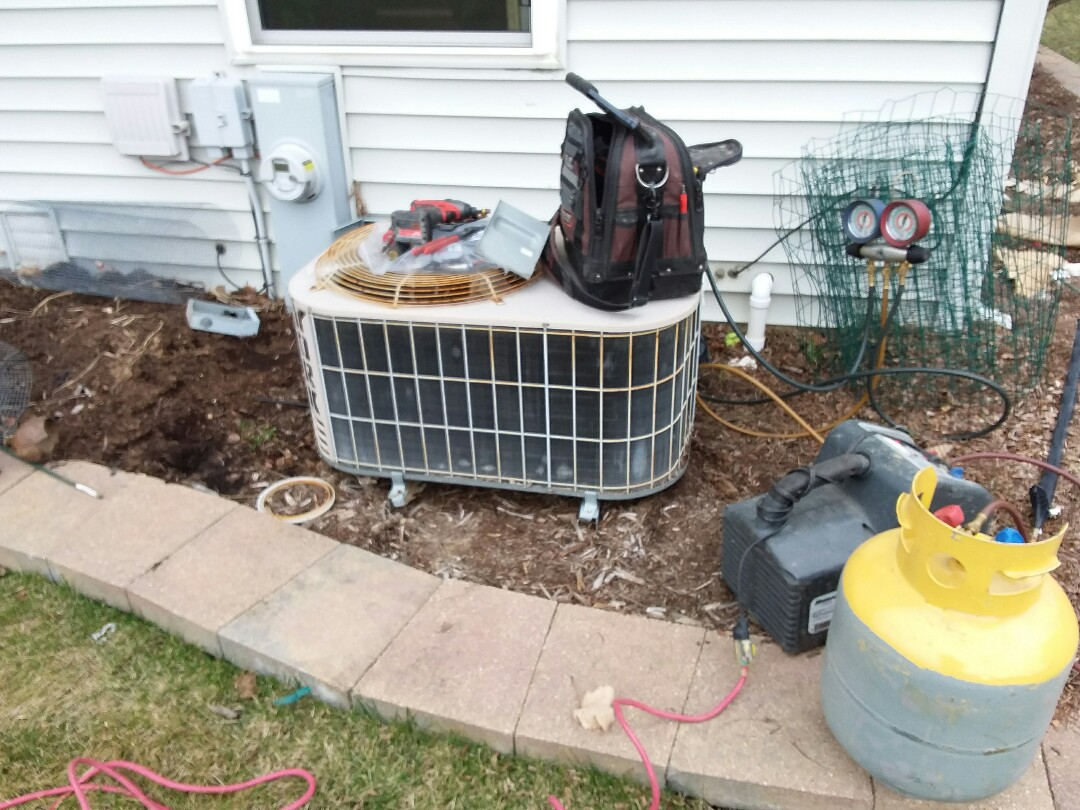Aurora, IL - New carrier furnace/ a.c. combo