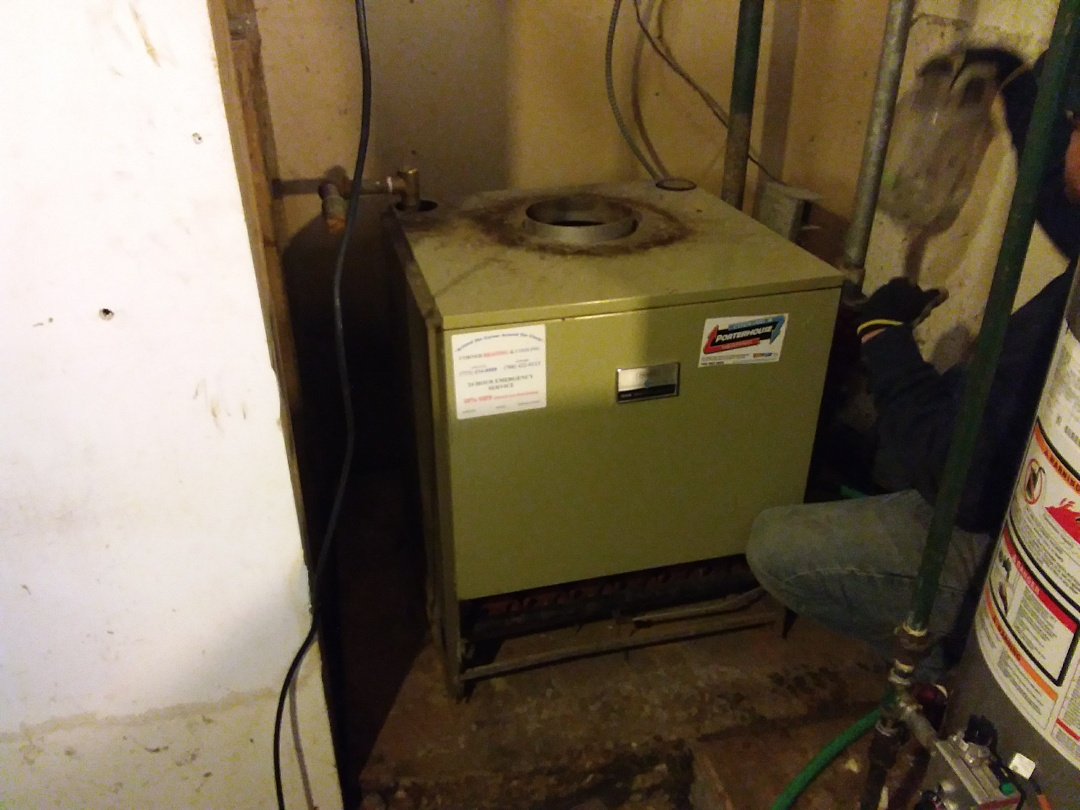 Robbins, IL - Installation of a crown boiler.