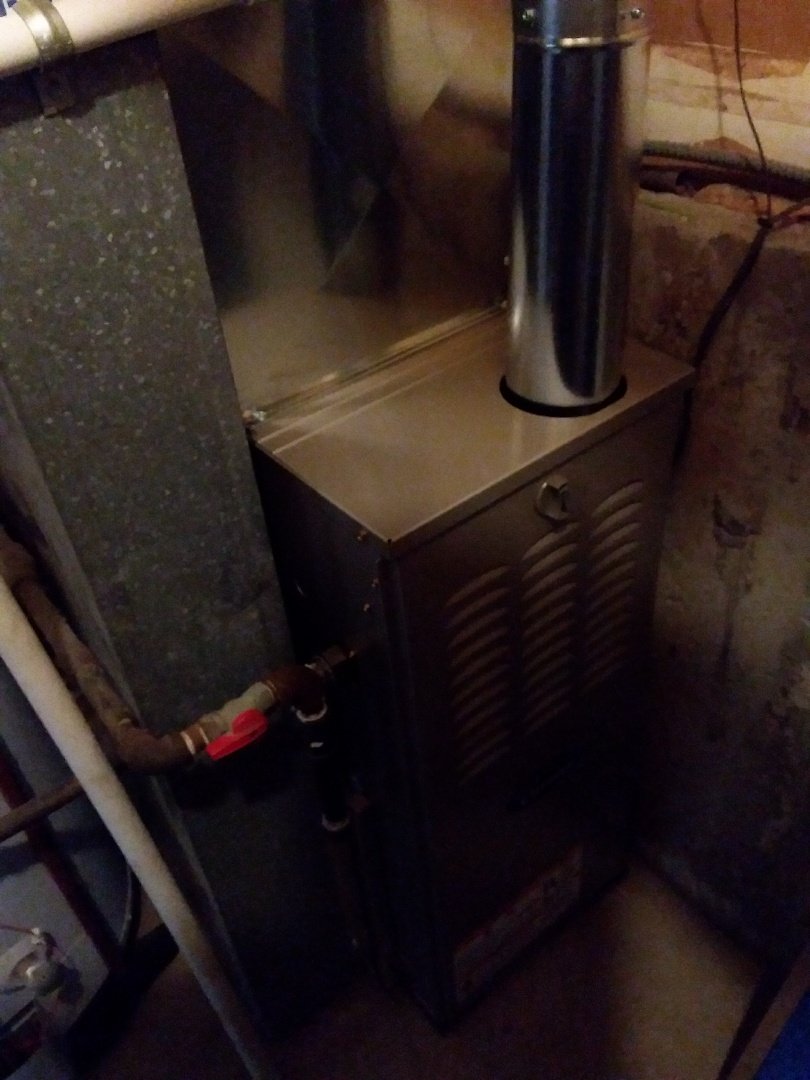 Bolingbrook, IL - Installation of new carrier furnace replacing old heil furnace