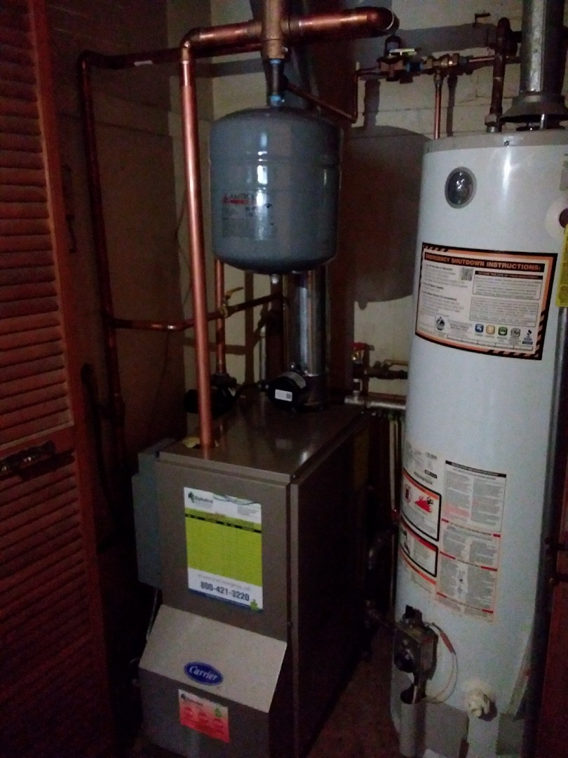 Park Forest, IL - Carrier boiler replacement