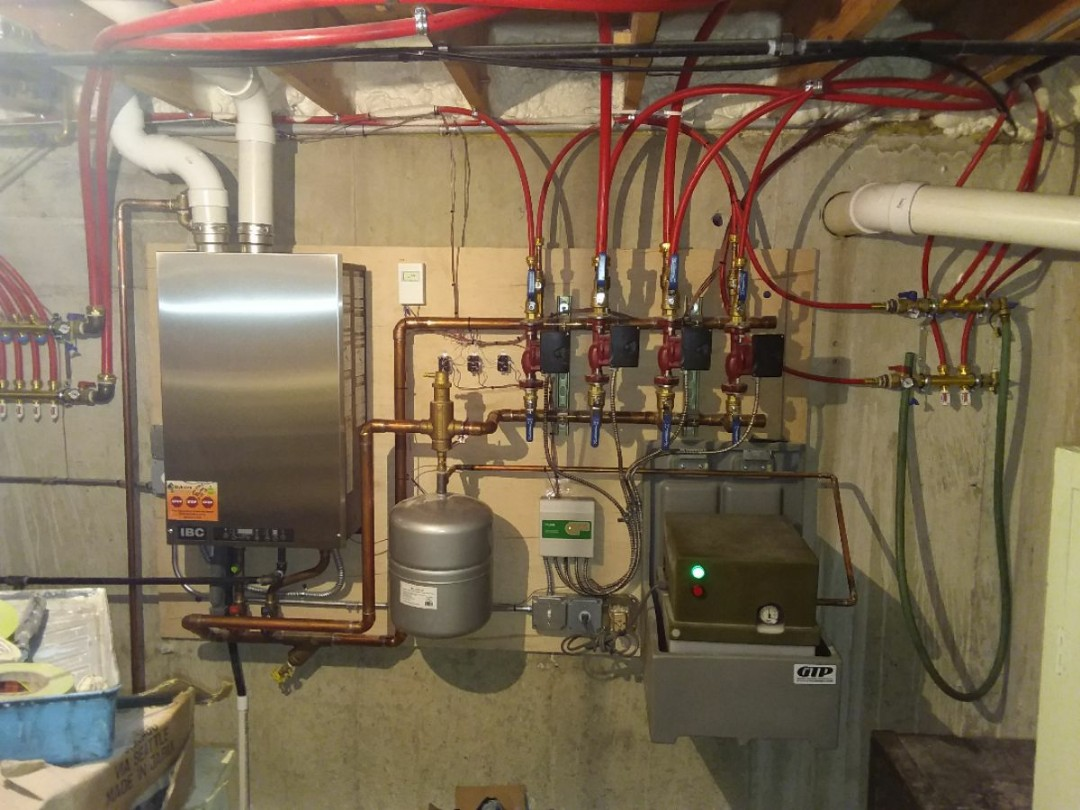 Shorewood, IL - Installation of a HTP boiler.