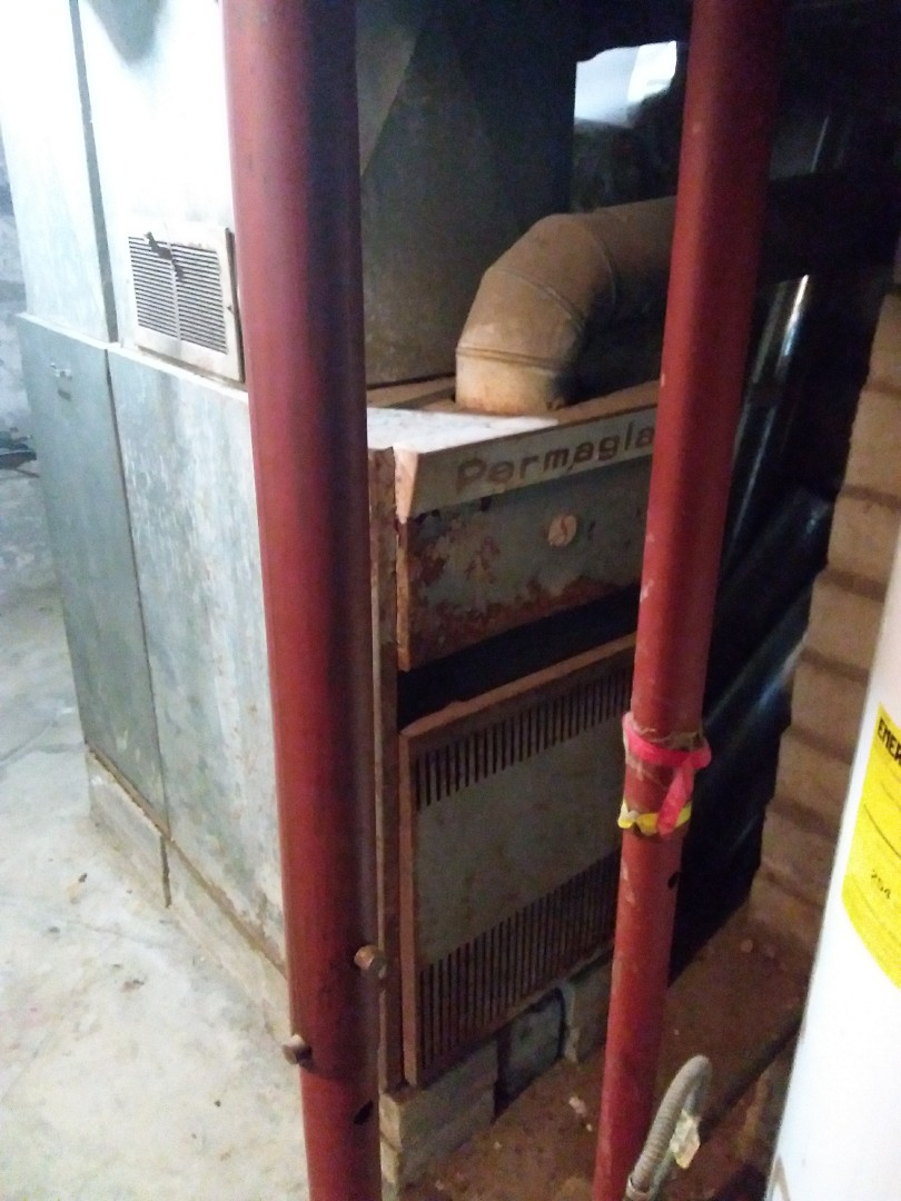 Joliet, IL - Installation of a carrier furnace replacement of a permaglass furnace