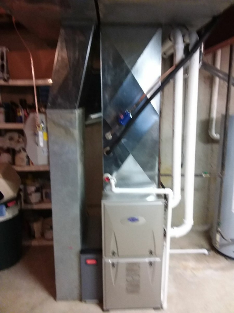 Batavia, IL - Installation of new carrier infinity furnace