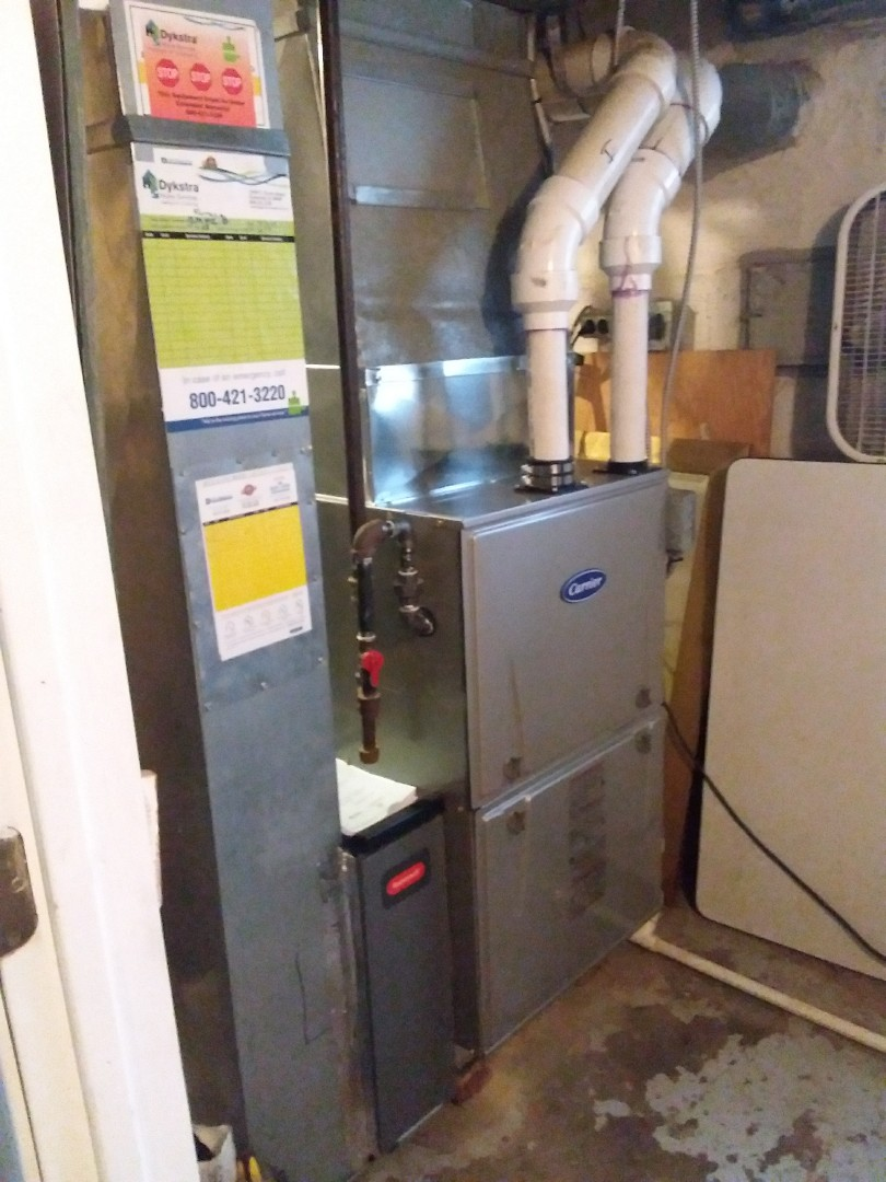 Downers Grove, IL - CARRIER furnace replacement