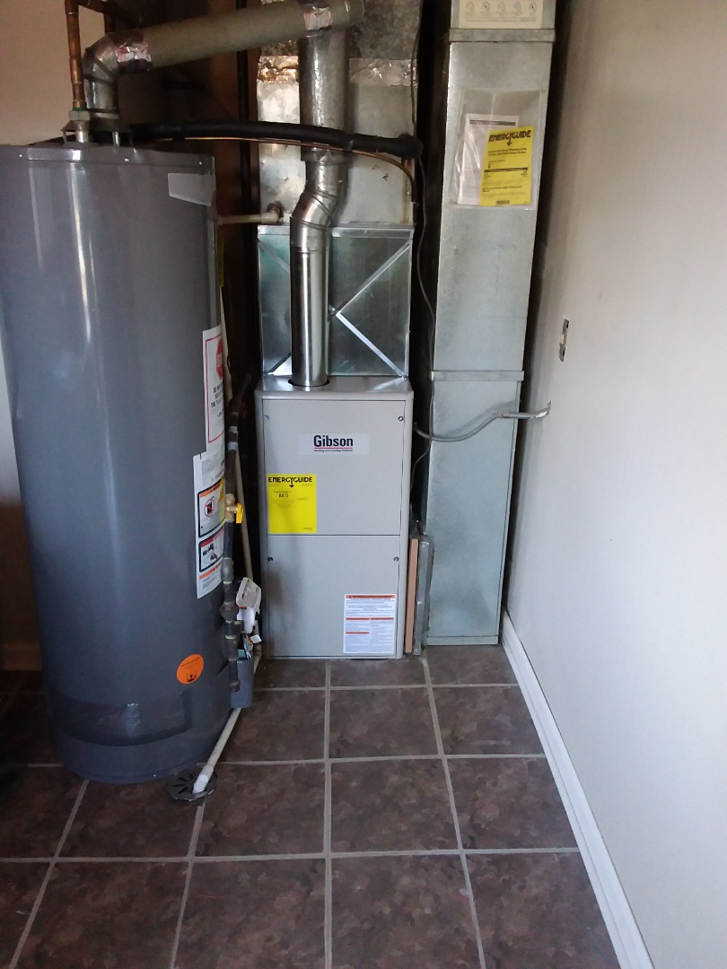 Posen, IL - New Gibson furnace installation