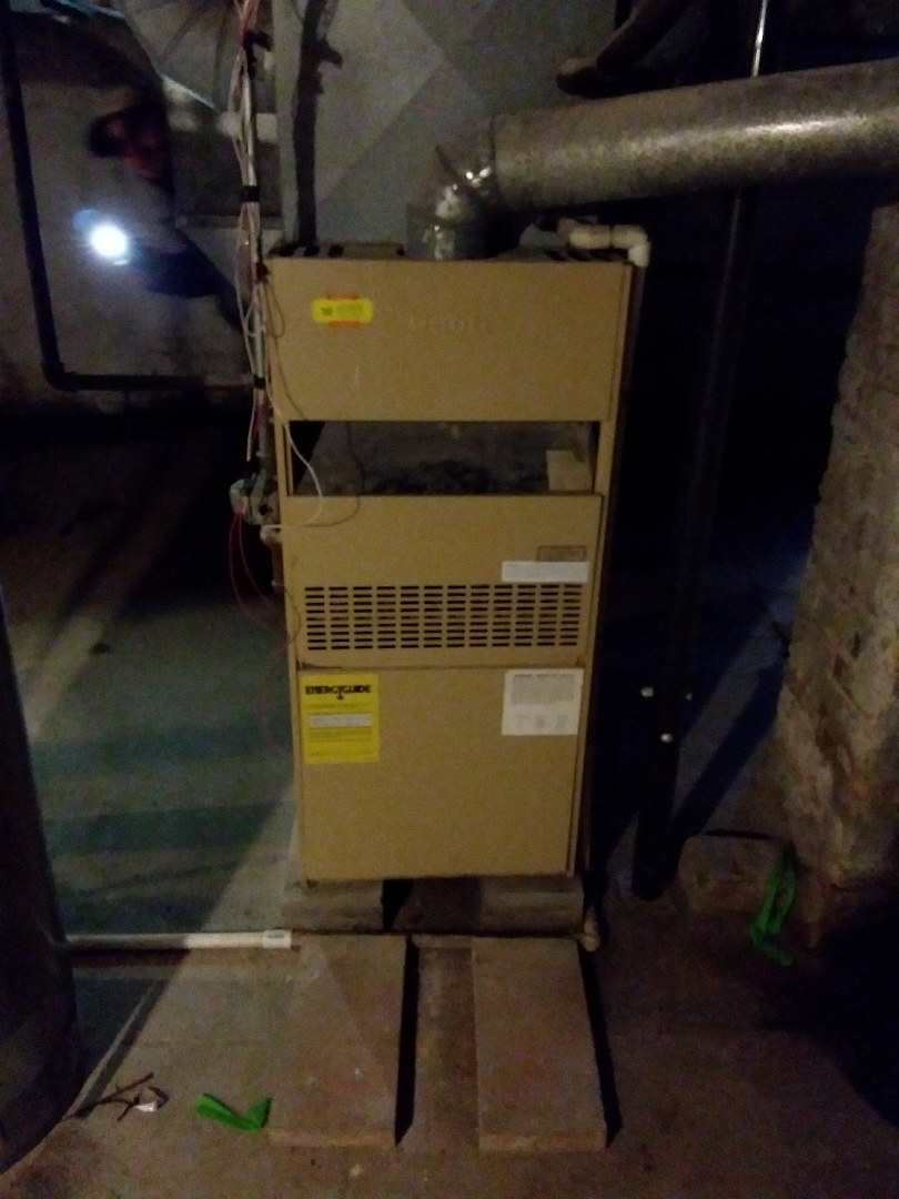 Joliet, IL - New carrier furnace install