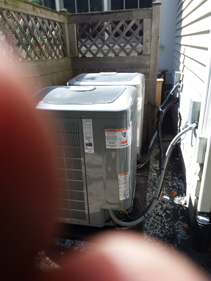 Glenview, IL - Installation of new carrier air conditioner