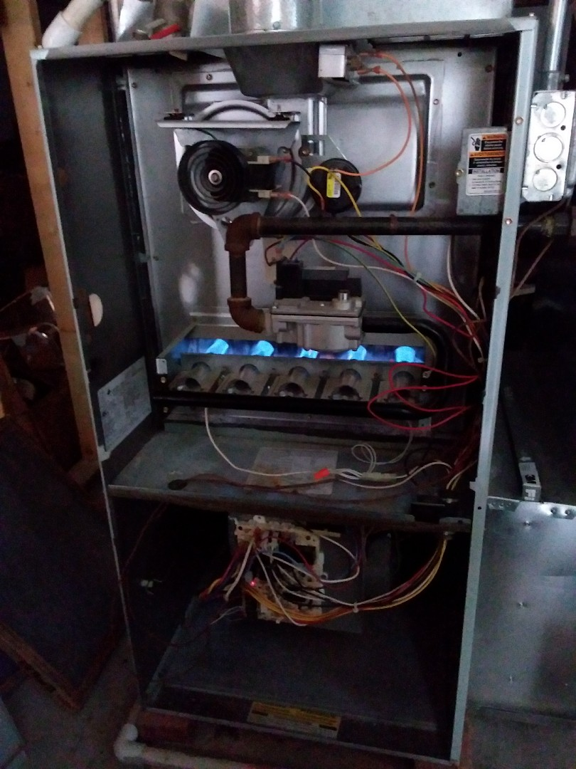 New Lenox, IL - Repairing a carrier furnace