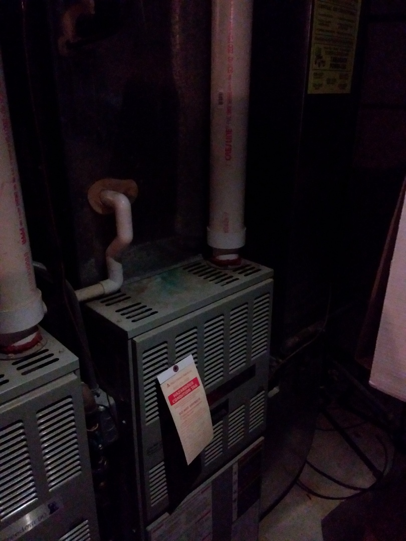 Naperville, IL - Installation of carrier furnace replace American standard furnace