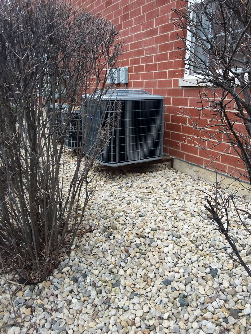 Orland Park, IL - Carrier air conditioning system installation
