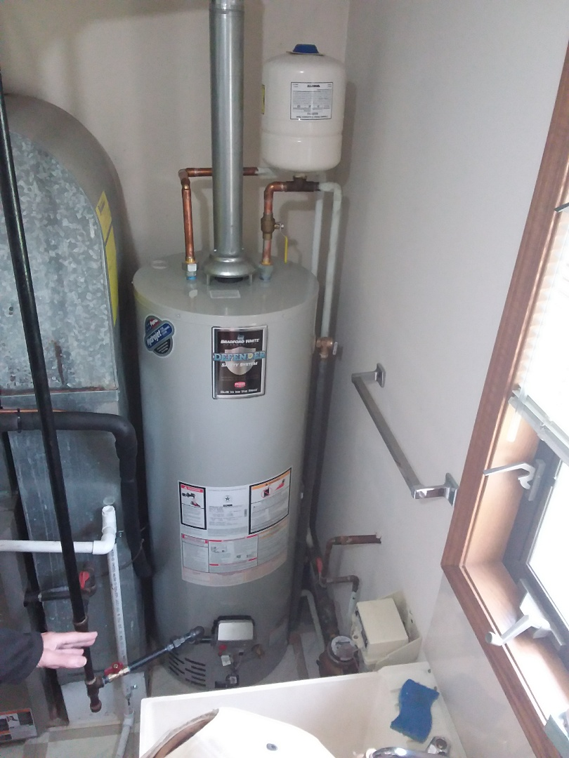 Palos Park, IL - Installation of a water heater