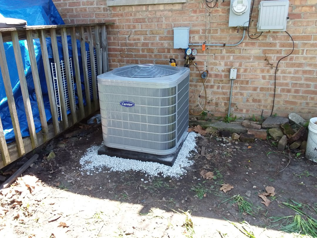 Oak Lawn, IL - Carrier air conditioner replacement