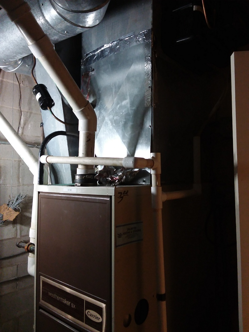 Hinsdale, IL - New air conditioning coil installation