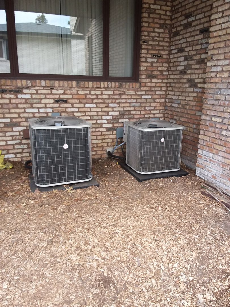 Palos Heights, IL - Installing new ac systems