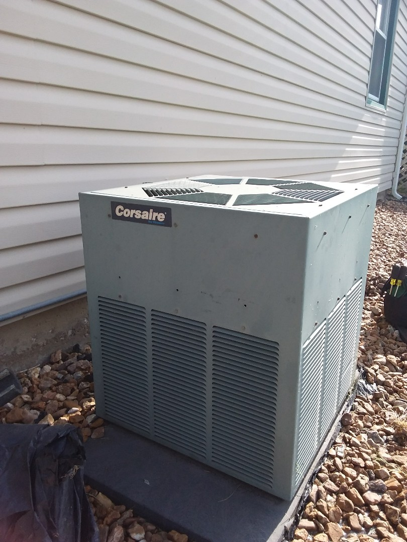 Hazel Crest, IL - Installation of carrier air conditioner replace old corsaire