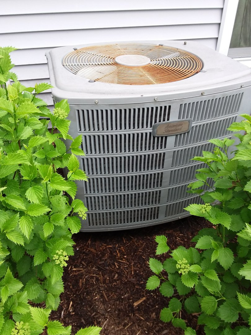 Batavia, IL - Yearly clean and check maintenance American standard AC unit