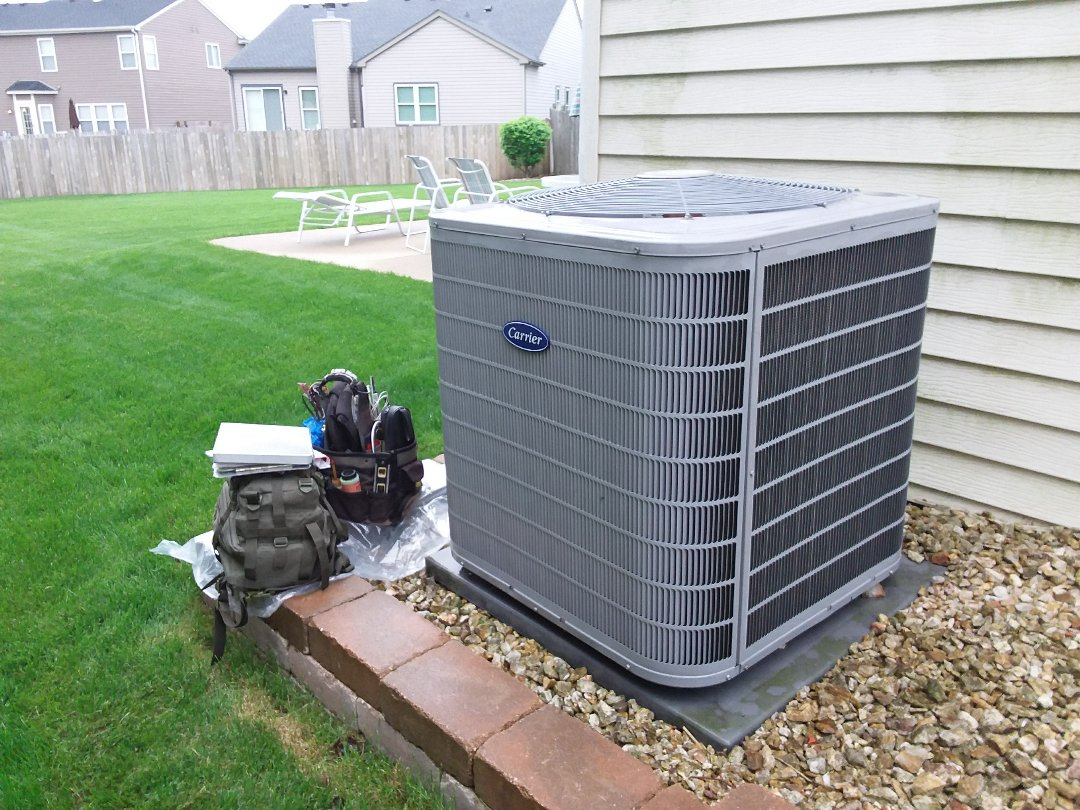 Bartlett, IL - Checked and cleaned A/C