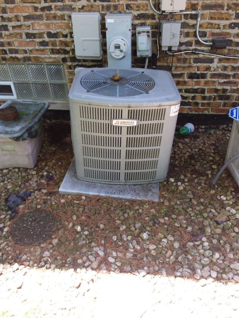 Harvey, IL - Maintaining an American Standard AC unit
