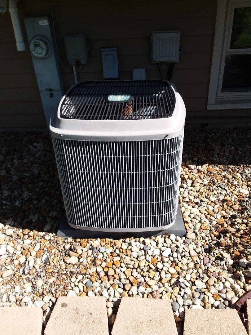 Naperville, IL - Maintaining Carrier AC unit