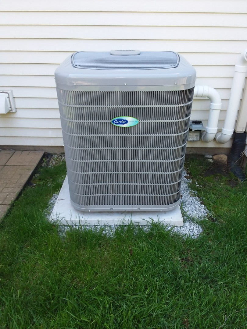Naperville, IL - Maintaining a Carrier AC unit