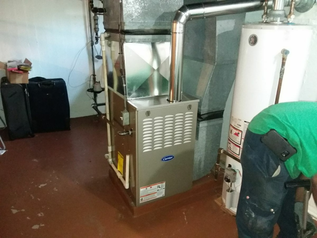 Bensenville, IL - Installation of a carrier furnace