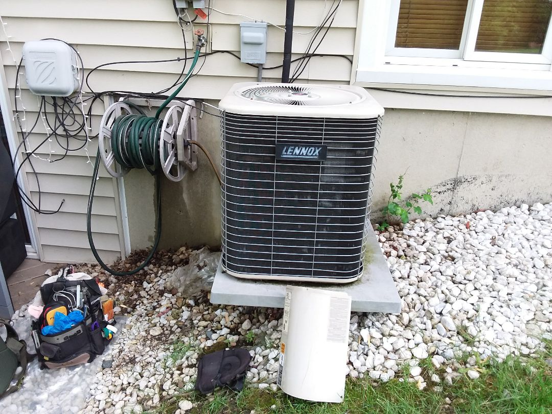 Hoffman Estates, IL - Checked and cleaned A/C