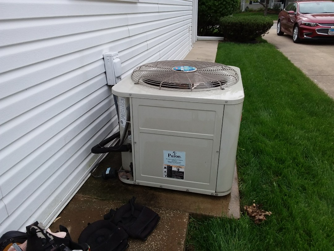Morton Grove, IL - Checked and cleaned A/C