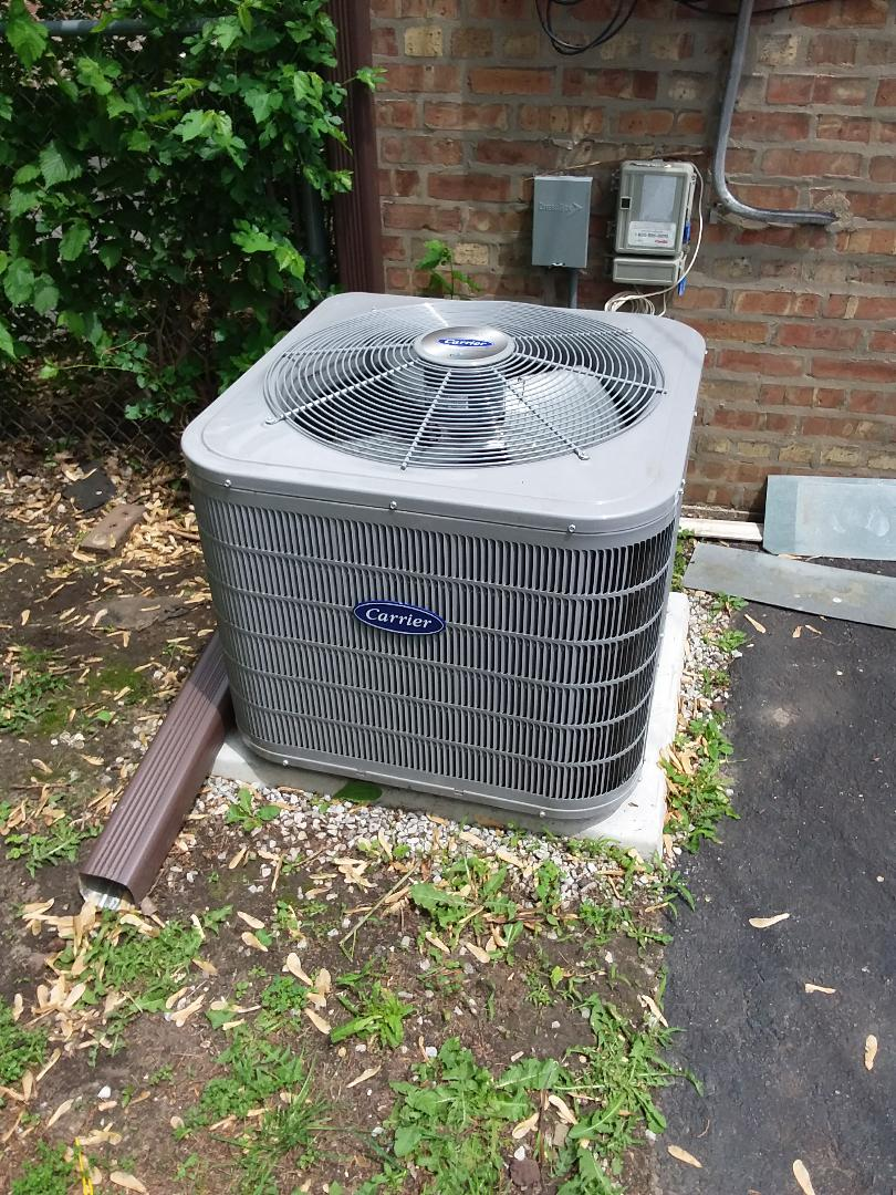 Chicago, IL - Repairing a Carrier AC unit
