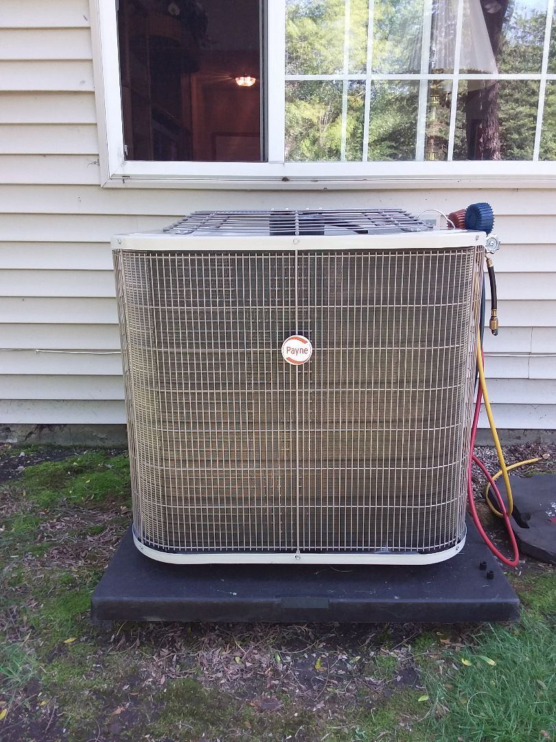 Glendale Heights, IL - Installation of Payne  air conditioner