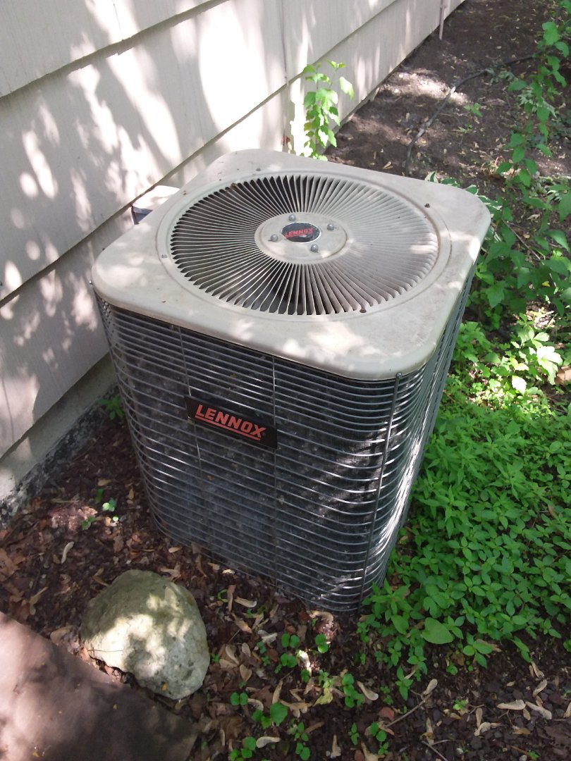 Willow Springs, IL - Maintaining a Lennox AC unit