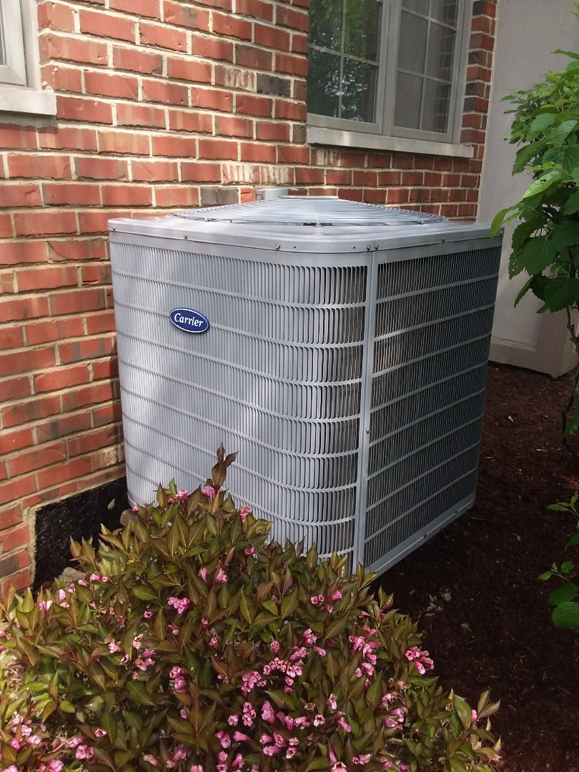 Palos Heights, IL - Maintaining a Carrier AC unit